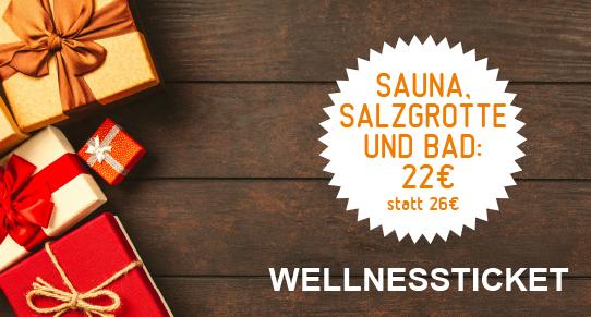 Wertgutschein Sauna Salzgrottenkombi Single