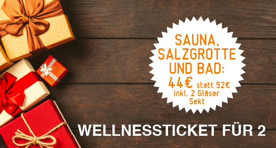 Wertgutschein Sauna / Salzgrottenkombi Paar
